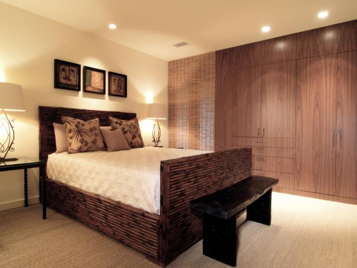 中式风格舒适衣柜设计图