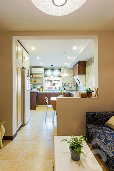 一居室小清新50平米旧房改造平面图