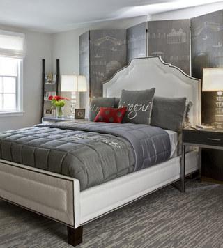 宜家风格舒适床头软包装潢