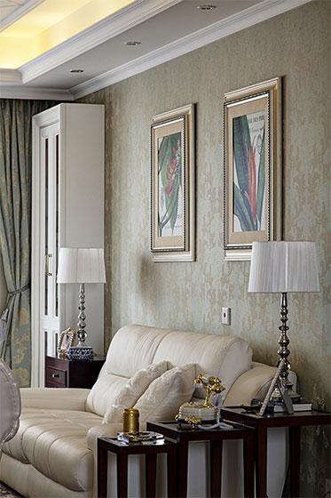 美式风格四房温馨装修效果图