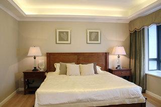 简约风格三居室时尚卧室装修效果图