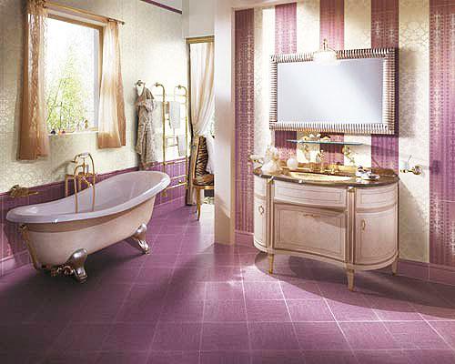 13 for Mauve bathroom ideas