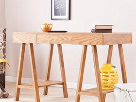 20张木质书桌效果图 简洁自然
