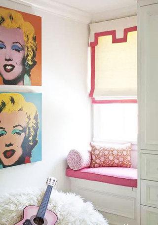 米色卧室窗帘窗帘图片