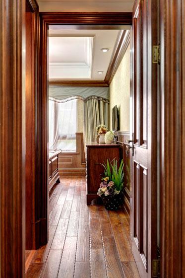 美式风格三居室古典旧房改造家装图片
