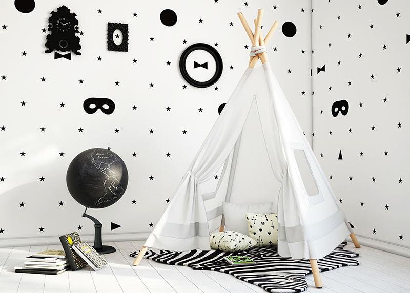 简约风格可爱白色壁纸图片
