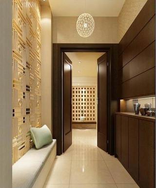 欧式风格大气玄关走廊设计图纸
