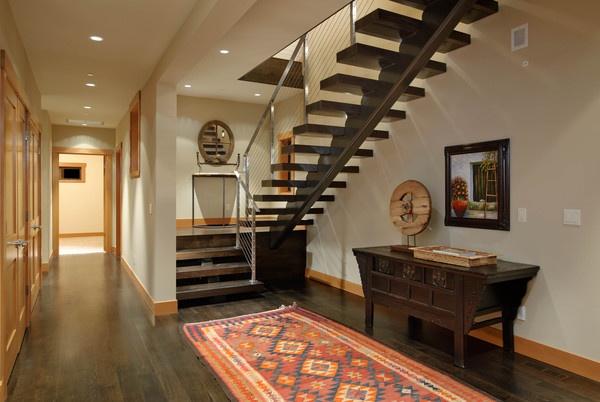 美式风格实用走廊效果图