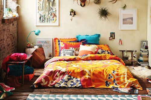 宜家风格温馨床头柜图片