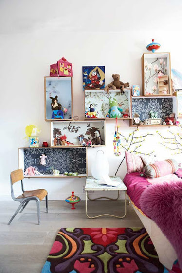 北欧风格唯美床头柜图片