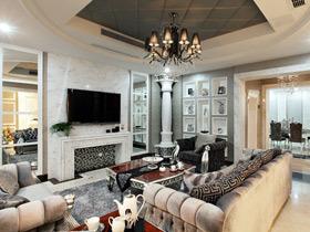 奢华古典欧式别墅装修 很大气的空间感