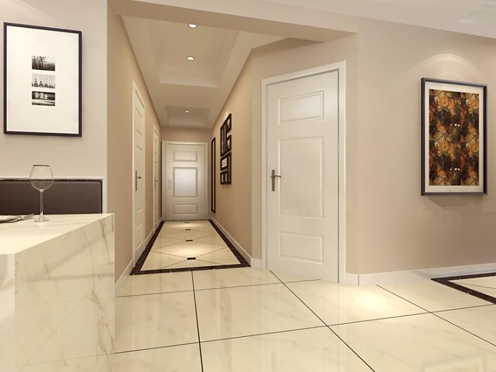 现代简约风格简洁白色设计图