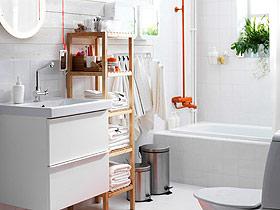 明亮卫生间设计 17款卫浴挂件来帮忙