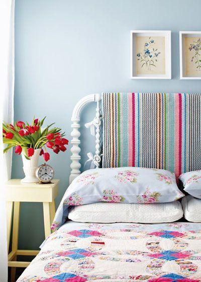 地中海风格简洁卧室装修图片
