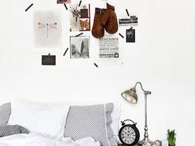 简单墙面装饰 18款卧室背景墙效果图