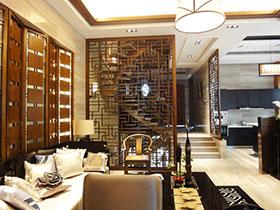 16张中式客厅隔断效果图 古典大气