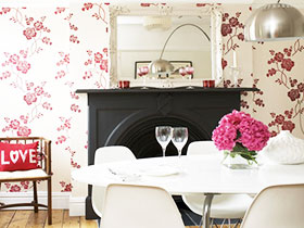 壁纸图片TOP20 装扮美丽简欧餐厅