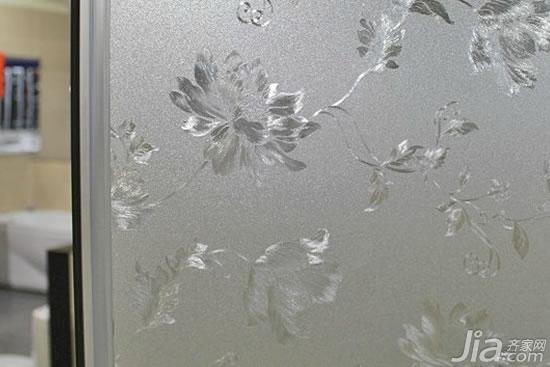磨砂玻璃门图片 磨砂玻璃门价格