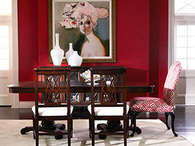 15张欧式餐厅背景墙图片 奢华大气