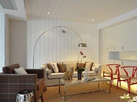 裸色系简洁北欧风公寓装修 最美的设计