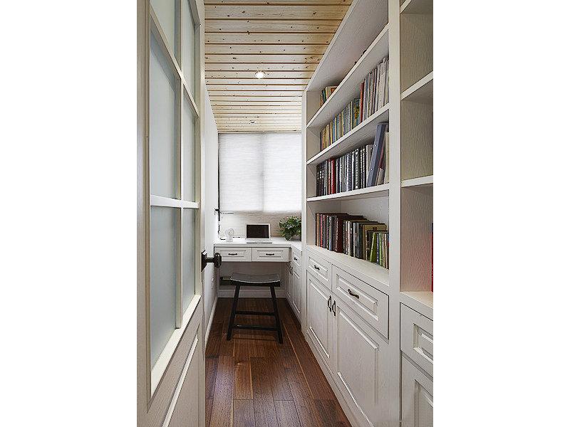 10 15万130平米美式三居室装修效果图,三室两厅打造沉稳大气美式风高清图片