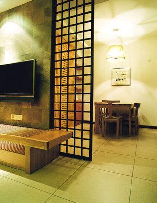 电视背景墙变隔断 13张客厅隔断效果图1/11