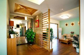 中式风格黄色客厅装潢