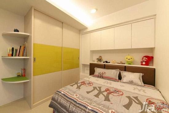 转角衣柜效果图五:衣柜的延伸设计图片