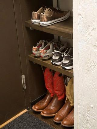 收纳型鞋柜设计效果图