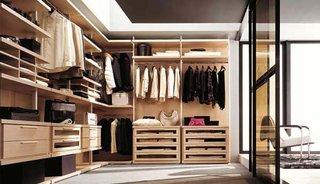 自然原木衣柜效果图