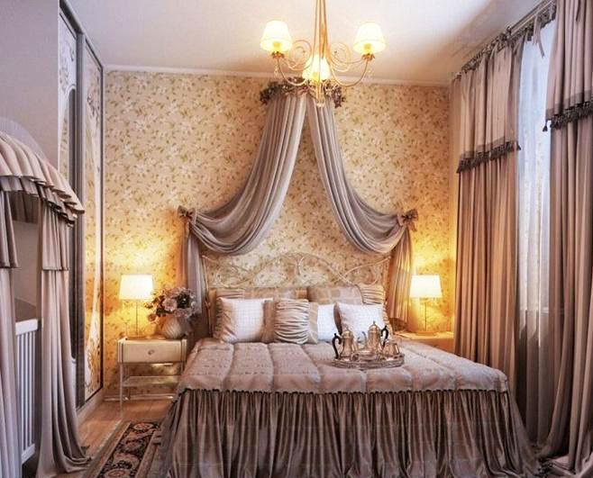 欧式风格四房浪漫140平米以上厨房窗帘图片图片