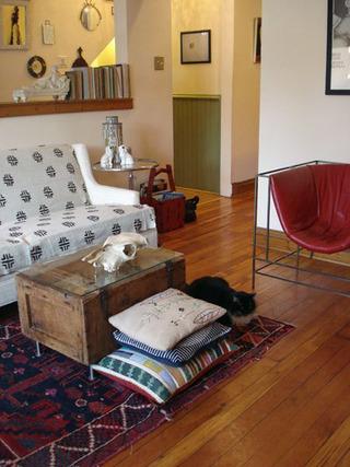 客厅玄关空间设计效果图