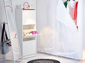 营造自然舒适 15款北欧玄关柜设计