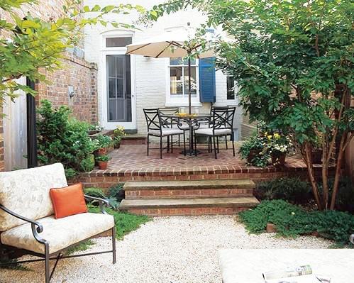 小庭院图片