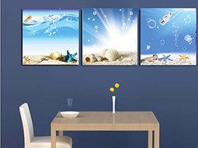 13张餐厅背景墙图片 欣赏装饰画的美
