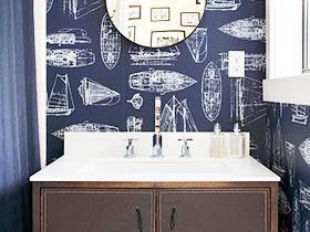 卫生间也要壁纸 15款壁纸图片