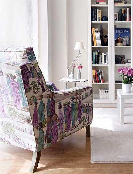 田园创意沙发椅图片