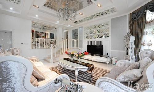 客厅吊顶 欧式客厅吊顶效果图欣赏高清图片