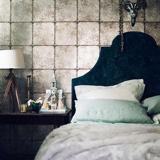 气质卧室壁纸装修效果图