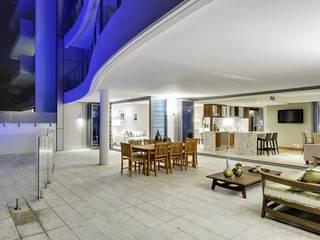 时尚简约客厅阳台设计效果图片