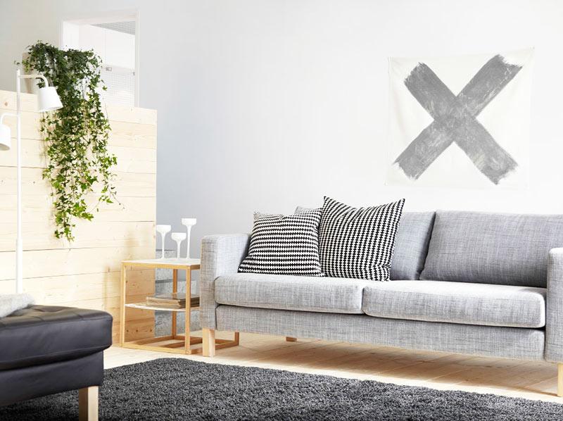 简洁宜家沙发效果图