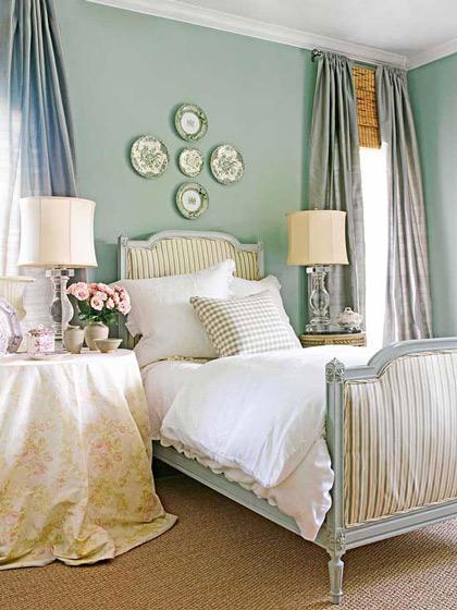 圆桌形床头柜图片