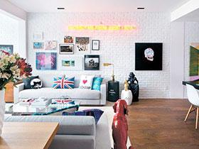 16张客厅过道效果图 感受清爽宜家风