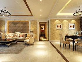 14张客厅与餐厅过道效果图 让家简洁分明