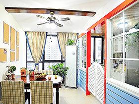 地中海餐厅设计 11张过道效果图
