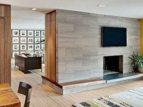 电视墙的妙用 16张客厅隔断设计图