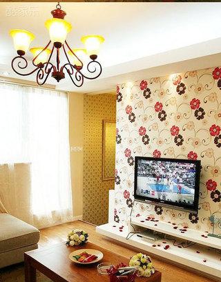 电视墙的妙用 16张客厅隔断设计图10/16