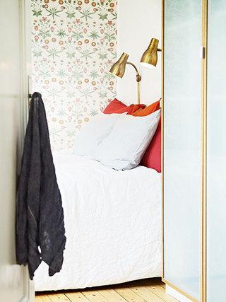 花色卧室壁纸装修效果图