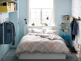 干净宜家风 12款宜家卧室背景墙效果图