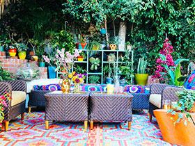 11张花园庭院效果图 唯美清新
